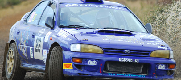 Subaru Rally Car - TM Rallysport